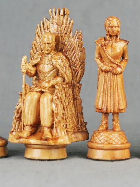 Game of Thrones Wood Chess Set