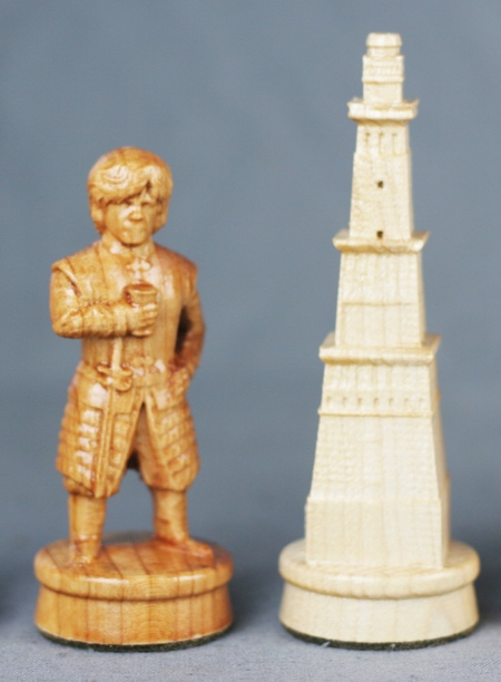 Game of Thrones Wood Chess