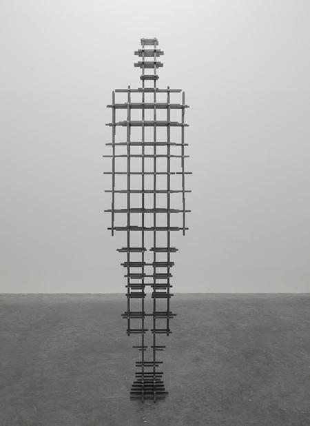 Antony Gormley Humanoid Sculptures