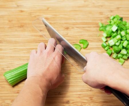 Chop Transfer Knife Guard