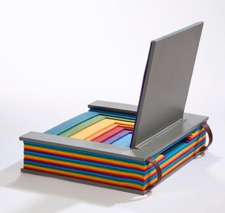 Chen Liu Rainbow Book Chair