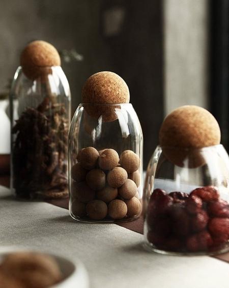 Palo Round Cork Jar