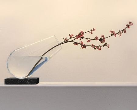 Jean Marc Gady Tilted Vase