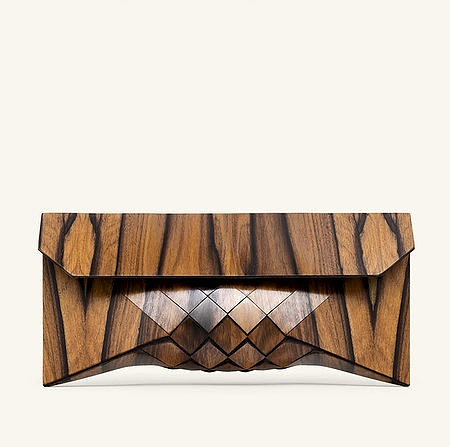Wooden Clutch Bag