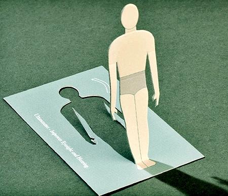 Fold Out Yoga Card