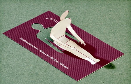 Fold Out Business Card