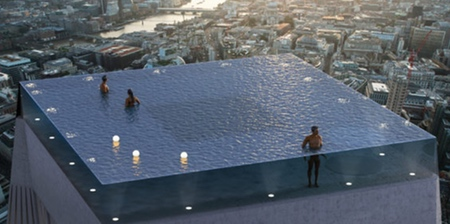 360 Degree Infinity Pool