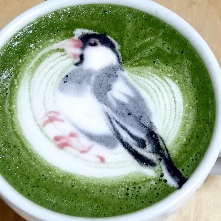 Birds Latte Art