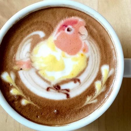 Japanese Coffee Art
