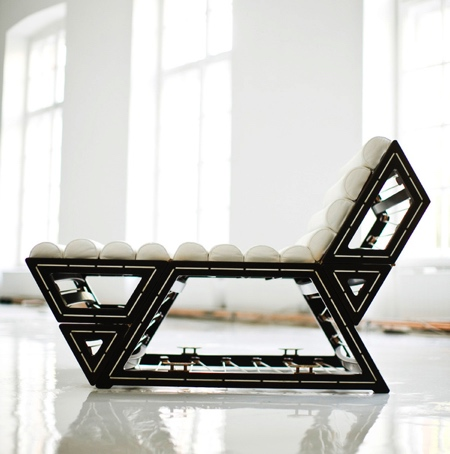 Balint Kormos Modular Lounge Chair