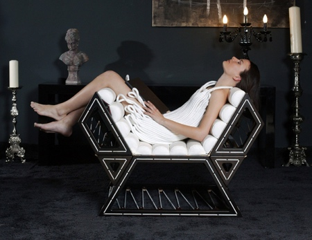 Balint Kormos Lounge Chair