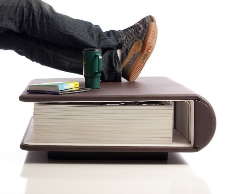 Book Shaped Coffee Table