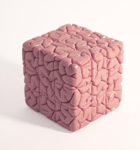 Human Brain Rubiks Cube