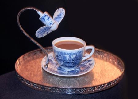 Dominic Wilcox Cooling Fan Tea Cup