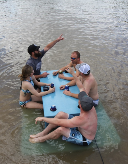 Picnic Table Float