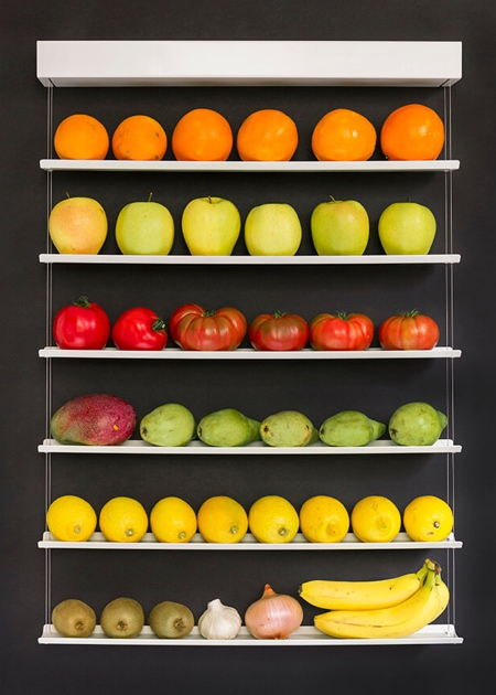 Hanging Fruit Wall
