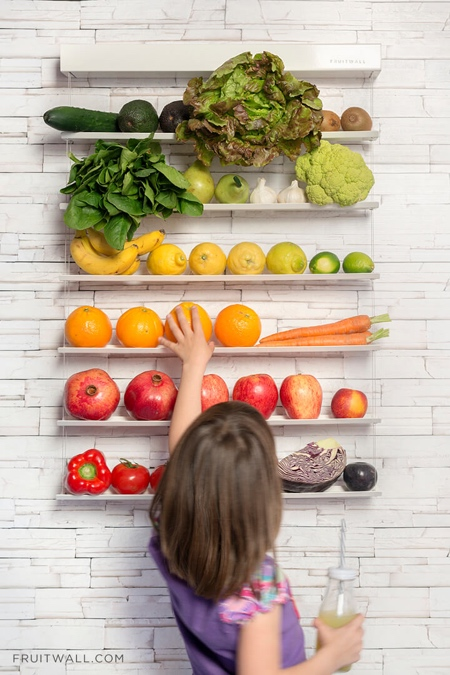 Fruit and Vegetable Wall