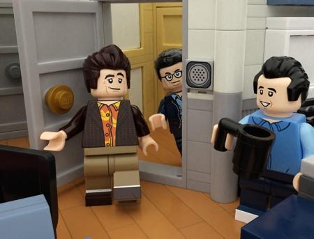 LEGO Cosmo Kramer