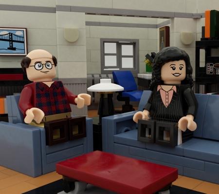 LEGO Elaine Benes