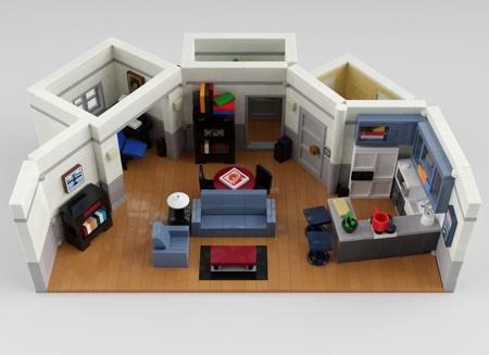 LEGO Seinfeld 30th Anniversary