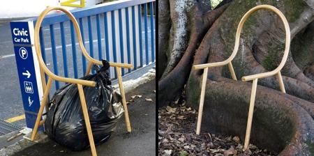 Outline Arm Chair