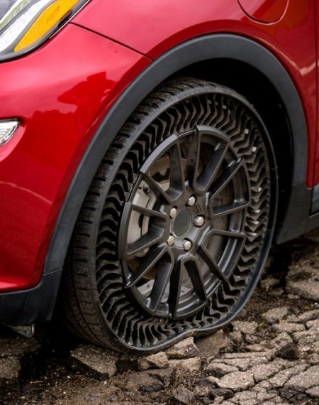 Puncture-Proof Airless Tires