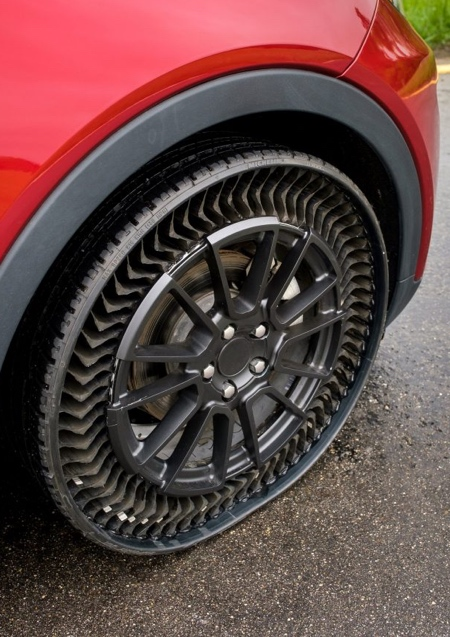 Puncture-Proof Airless Tire