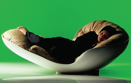 Alvin Tjitrowirjo Snug Lounge Chair