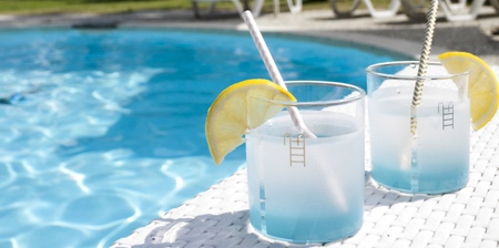 Swimming Pool Drinking Glass