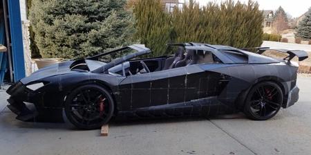 3D Printed Lamborghini Car