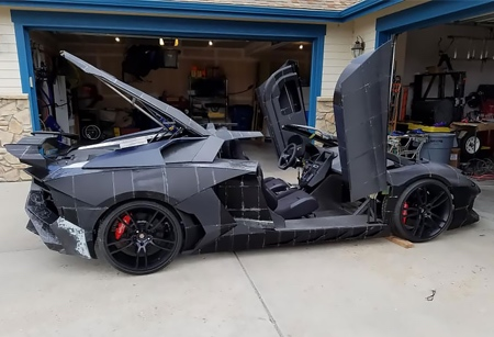 Handmade Lamborghini Aventador