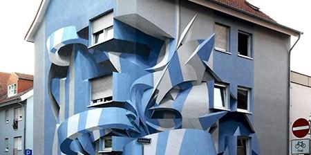 3D Street Art House
