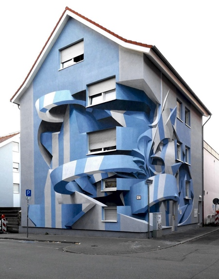 3D Street Art Apartment