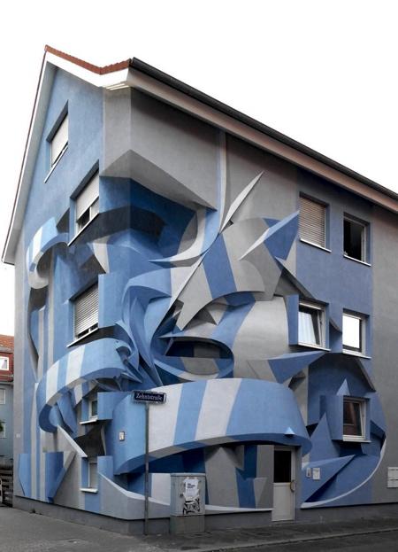 Peeta 3D Street Art House