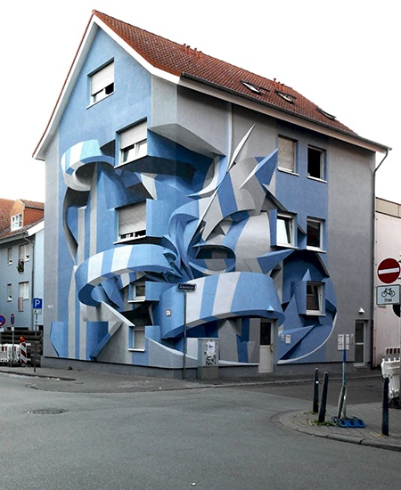 Peeta 3D Street Art Apartment