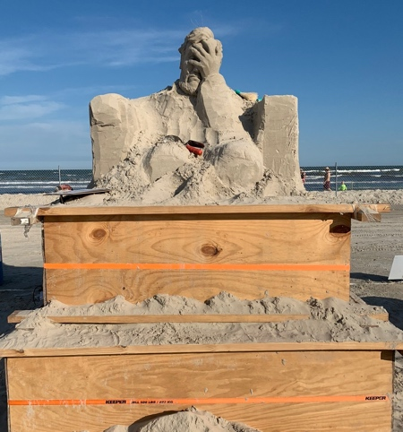 Sand Abraham Lincoln