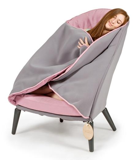 Warm Blanket Chair