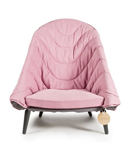 Kseniya Alferova Blanket Armchair
