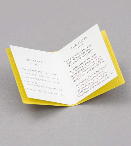 Miniature Book Business Card