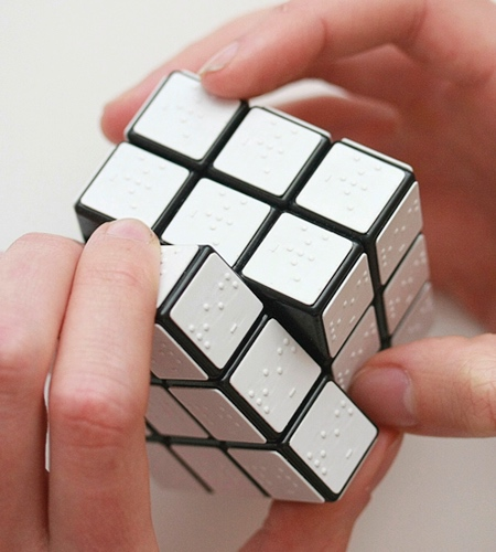 Rubiks Cube for Blind People