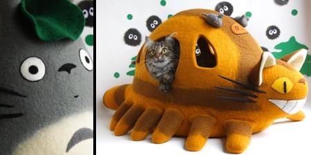 Totoro Catbus Cat Bed