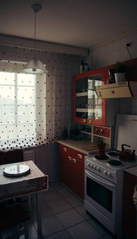 Chernobyl TV Show Apartment