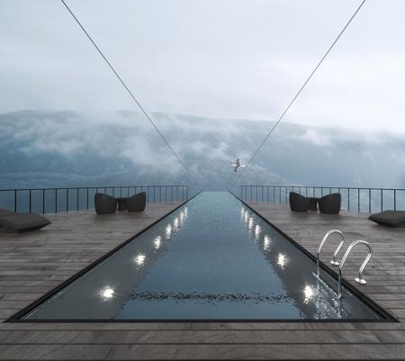 Cliff Hotel Concept