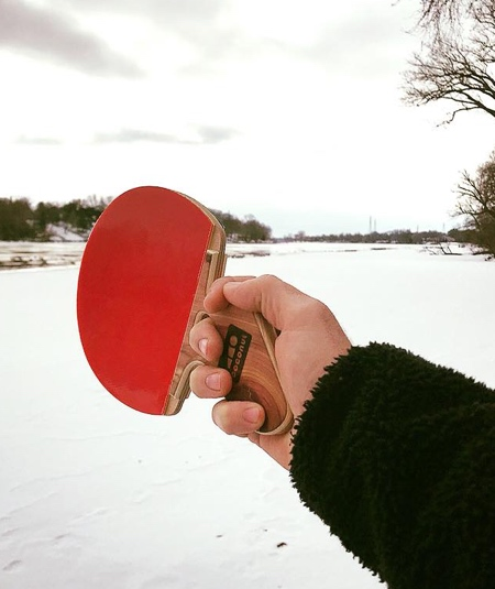 Handmade Table Tennis Paddles