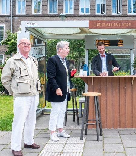 George Barratt-Jones Coffee Shop Bus Stop
