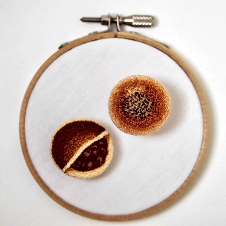 Embroidery Food