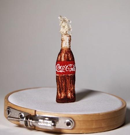 Embroidered Coca-Cala