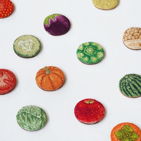 ipnot Embroidered Food