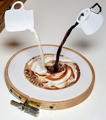 Embroidered Coffee