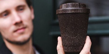 Cups Made of Coffee
